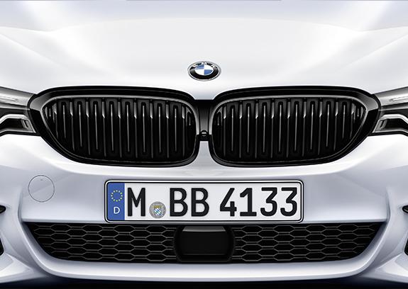 BMW M Performance Frontziergitter Schwarz.