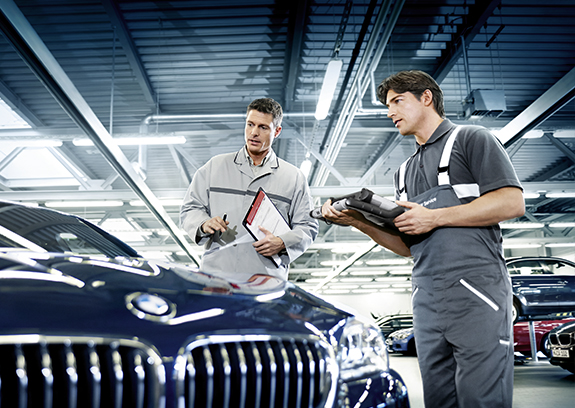 BMW Service Saison-Check.