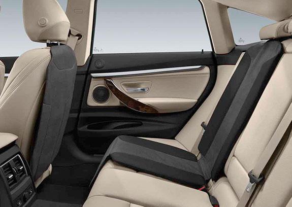 BMW Lehnenschutz und Kindersitzunterlage.